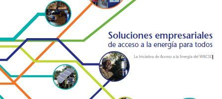 Soluciones empresariales de acceso a la energía para todos
