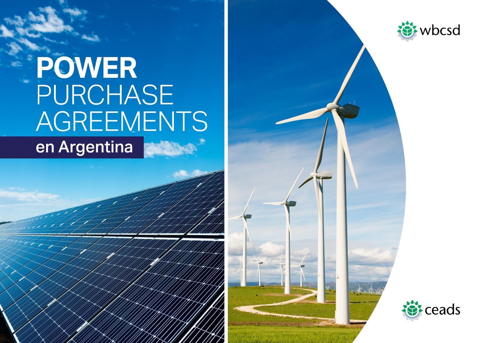 Informe sobre Acuerdos Corporativos de Compra de energía renovable en Argentina