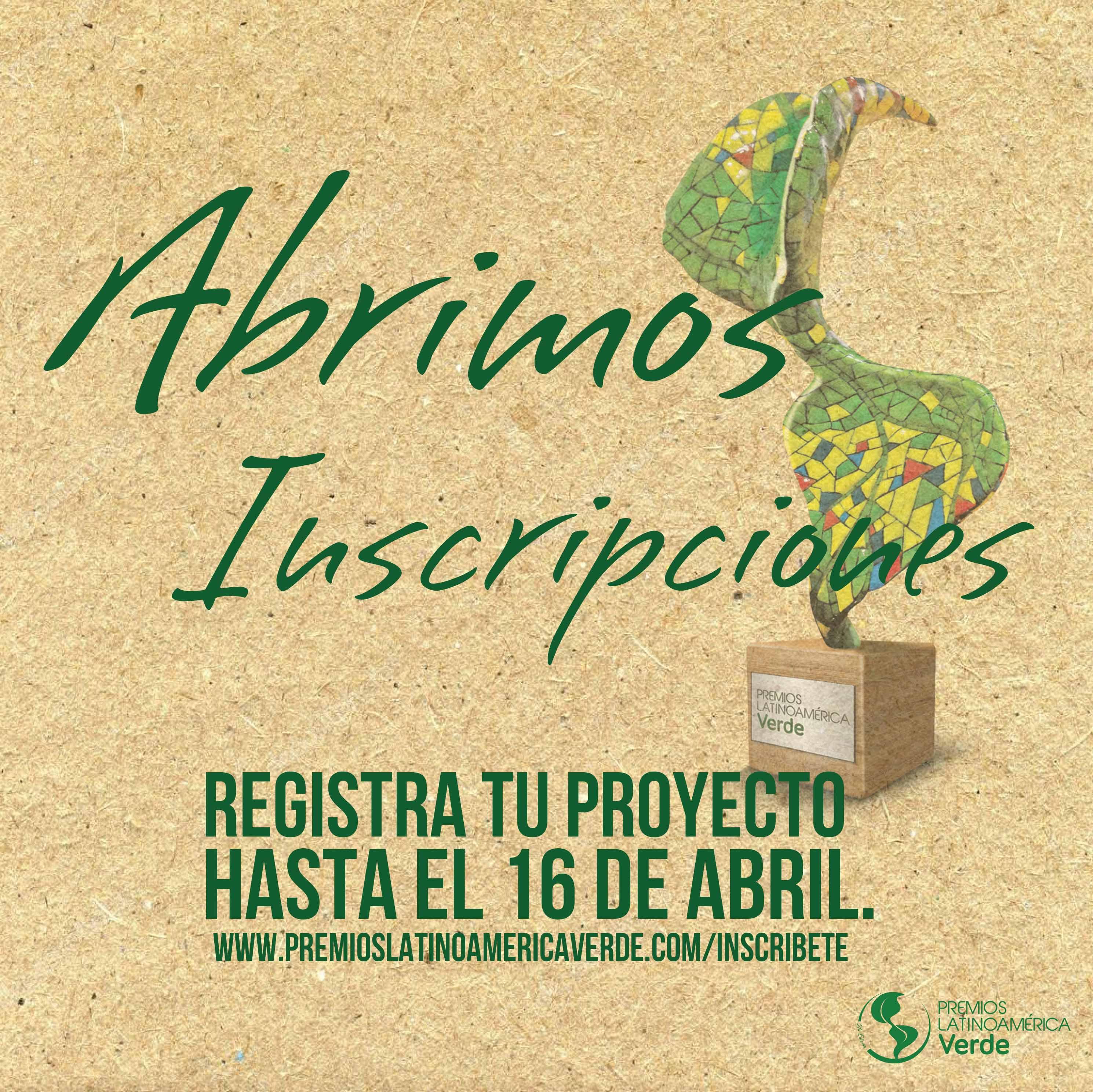 CEADS apoya institucionalmente a la 5ta edición de los Premios Latinoamérica Verde