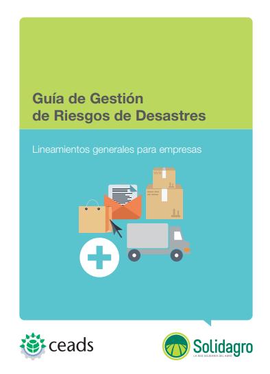 Guía de Gestión de Riesgo de Desastres