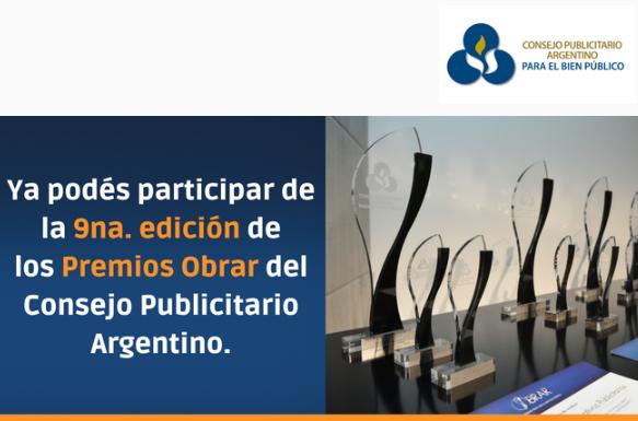 CEADS se suma como apoyo institucional de los Premios Obrar