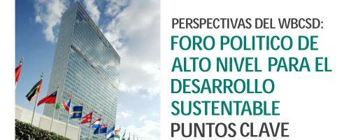 WBCSD participó del Foro Político de Alto Nivel en Desarrollo Sostenible de la ONU