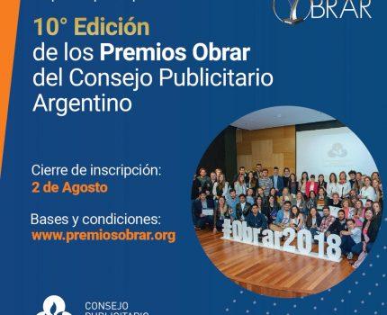10ma Edición de los Premios Obrar