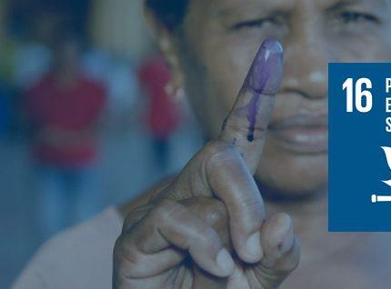 #ODS 16: Paz, justicia e instituciones sólidas
