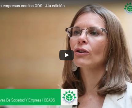 Video: 4ta edición de «Conectando empresas con los ODS»