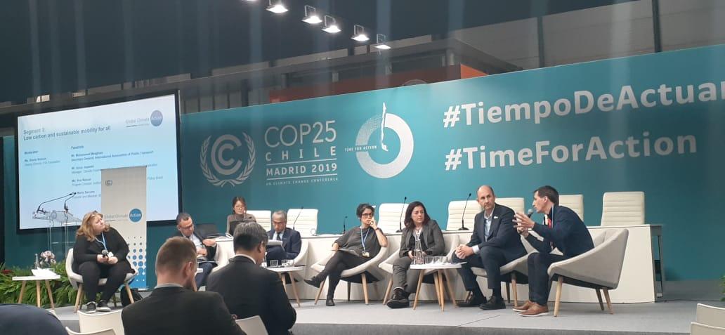 COP 25, los desafíos del transporte