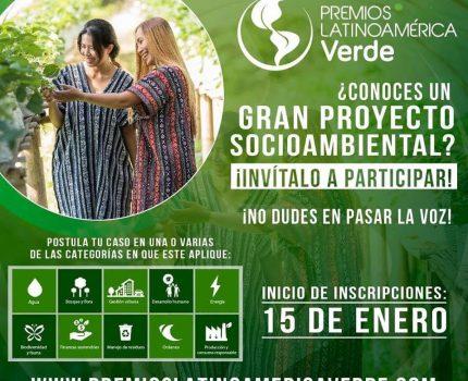 Premios Latinoamérica Verde: un año más, CEADS se suma como apoyo institucional