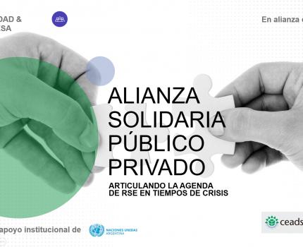Alianza Solidaria Multisectorial junto a ONU y Ministerio de Desarrollo Social de la Nación