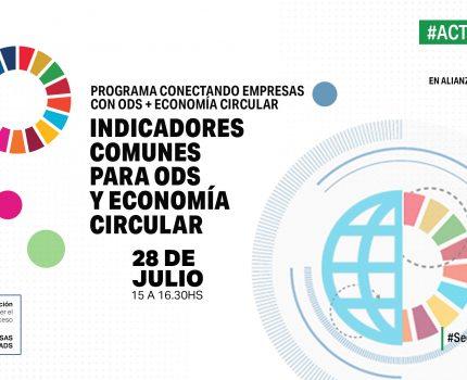 Encuentro sobre Indicadores de ODS y Economía Circular,  en alianza con EY Argentina.