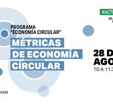 CEADS sigue avanzando en el desarrollo de Indicadores Economía Circular, en alianza con CEMPRE, ECOPLAS e INNUBATEC