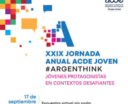 XXIX Jornada anual ACDE joven #Argenthink