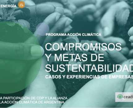 Programa Acción Climática: compromiso y metas de sustentabilidad