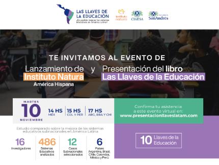 Lanzamiento de Instituto Natura en América Hispana
