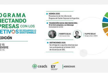 Conectando empresas con los ODS: la contribución del sector empresario argentino con la agenda 2030