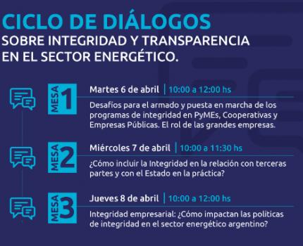 #ApoyoCEADS «Ciclo de Diálogos sobre Integridad y Transparencia en el Sector Energético».