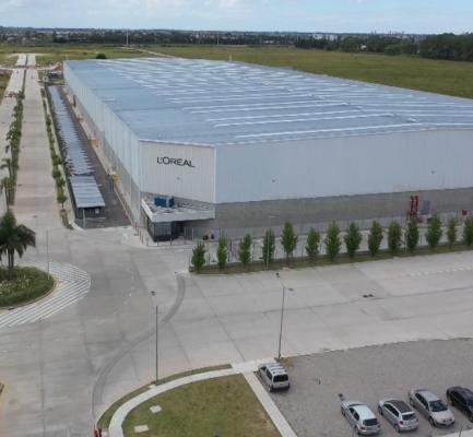 L'Oréal y Grupo Logístico Andreani  anunciaron ser el primer centro logístico en obtener la certificación LEED® PLATINUM en Argentina