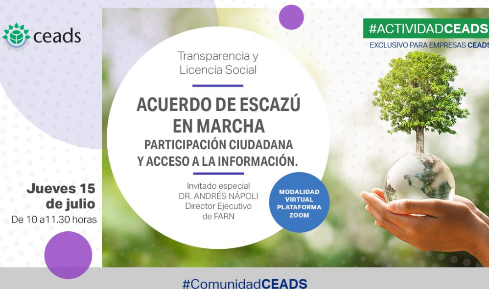 Acuerdo de Escazú en marcha: participación ciudadana y acceso a la información