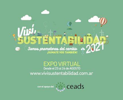 CEADS renueva su apoyo a la 6ta. Edición de Viví Sustentabilidad: innovación al servicio de la sustentabilidad.