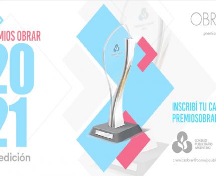 El Consejo Publicitario Argentino abrió la inscripción para la 12ª edición de los Premios Obrar y presenta los Premios Obrar Federal 2021.